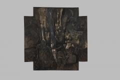 Grand Nocturne en Croix 137x137 année 1999